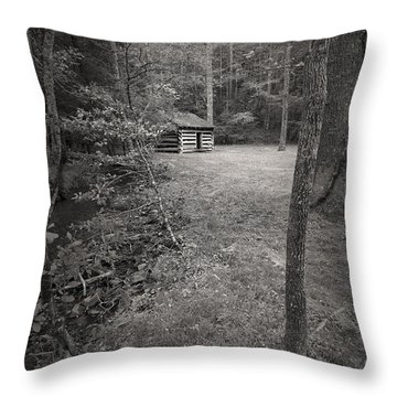 Timeless In The Cove Throw Pillow by Jon Glaser
