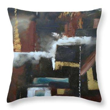TMI Throw Pillow by Stuart Engel