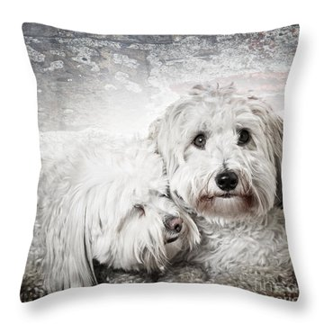 Together Throw Pillow by Elena Elisseeva
