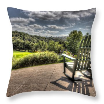 Together Throw Pillow by Heidi Smith
