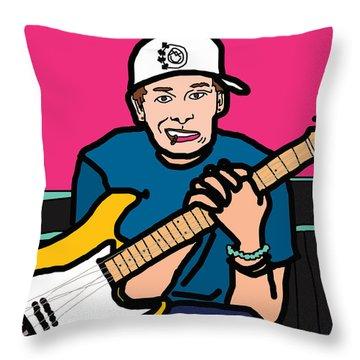 Tom Delonge Throw Pillow by Jera Sky