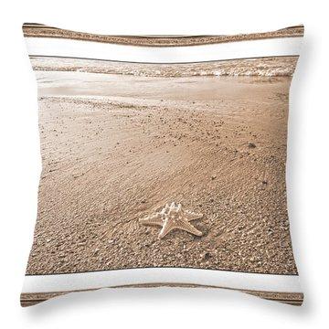 Tonal Topsail Inspiration Throw Pillow by Betsy Knapp