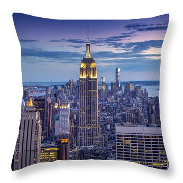 Top Of The World Throw Pillow by Marco Crupi