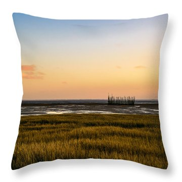 Throw Pillow featuring the photograph Touch The Sky by Thierry Bouriat