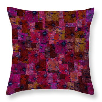 Toward Square Throw Pillow by Jack Zulli