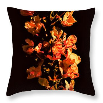 Tower Bloom Throw Pillow by Leif Sohlman