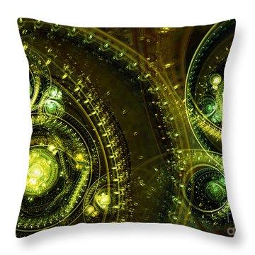 Toxic Dream Throw Pillow by Martin Capek
