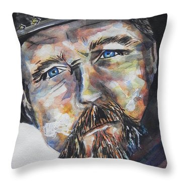 Trace Adkins..country Singer Throw Pillow by Chrisann Ellis