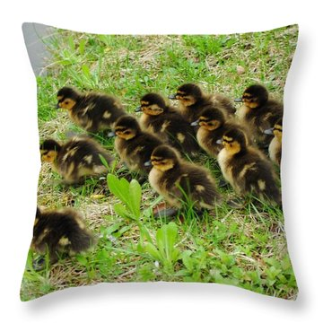 Traffic Jam Throw Pillow by Frozen in Time Fine Art Photography