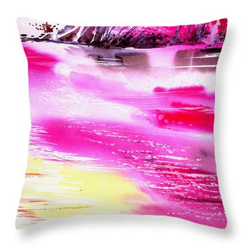 Tranquil 2 Throw Pillow by Anil Nene
