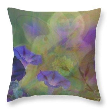 Transformation Throw Pillow by PainterArtist FIN