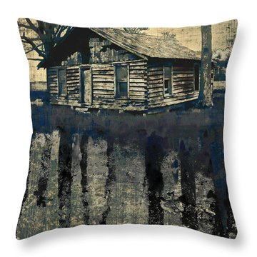 Transitory Throw Pillow by Brett Pfister