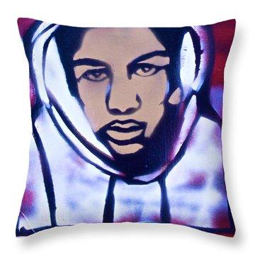 Trayvon's America Throw Pillow by Tony B Conscious