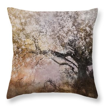 Tree Whispers Throw Pillow by Amy Weiss