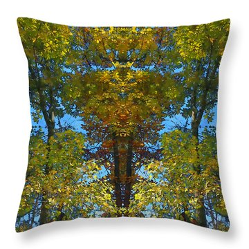 Trees Alive Throw Pillow by Susan Leggett