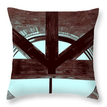 Trinity Series 5 Throw Pillow by Luther   Fine Art