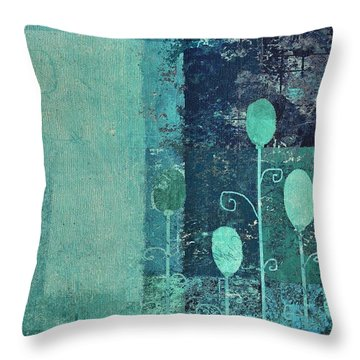 Triploflo - 15at02 Throw Pillow by Variance Collections