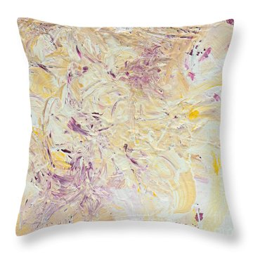 Tropical2 Throw Pillow by Margit Wimmer