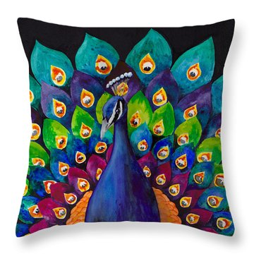 True Colors Throw Pillow by Susy Soulies