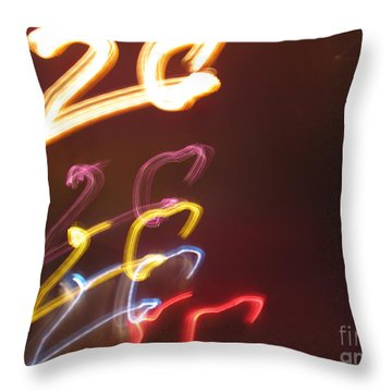 Twenty Throw Pillow by Ausra Huntington nee Paulauskaite