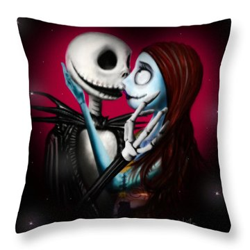 Two In One Heart Throw Pillow by Alessandro Della Pietra