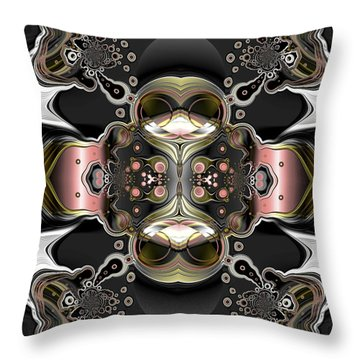 Uncertain Committments Throw Pillow by Claude McCoy