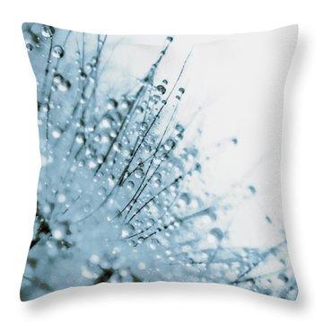 Under Water Throw Pillow by Lisa Knechtel