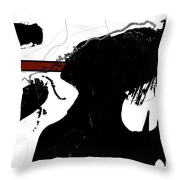Undercover Throw Pillow by Gerlinde Keating - Galleria GK Keating Associates Inc
