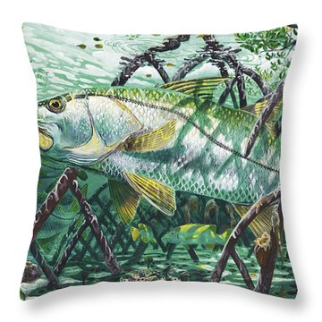 Undercover In0022 Throw Pillow by Carey Chen