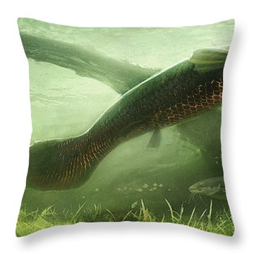 Underpass Throw Pillow by Javier Lazo