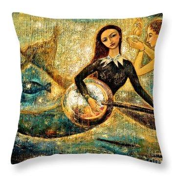 Undersea Throw Pillow by Shijun Munns
