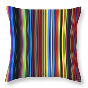 Unity Of Colour Throw Pillow by Tim Gainey