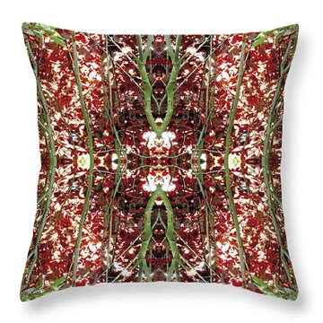 Unnatural 23 Throw Pillow by Giovanni Cafagna