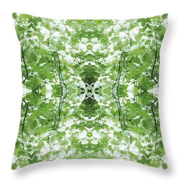 Unnatural 34 Throw Pillow by Giovanni Cafagna