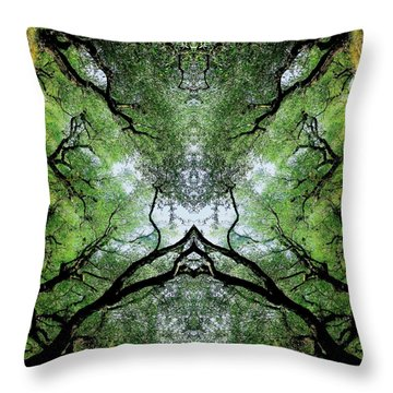Unnatural 75 Throw Pillow by Giovanni Cafagna