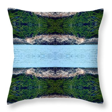 Unnatural 76 Throw Pillow by Giovanni Cafagna