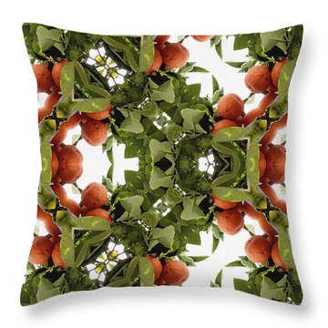 Unnatural 77 Throw Pillow by Giovanni Cafagna