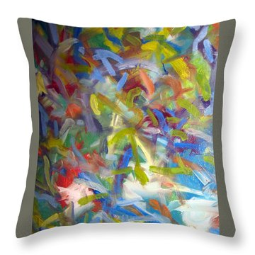 Untitled #1 Throw Pillow by Steven Miller