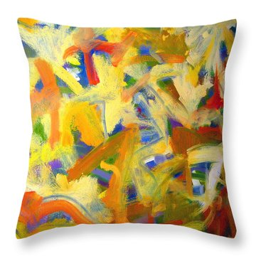 Untitled #20 Throw Pillow by Steven Miller