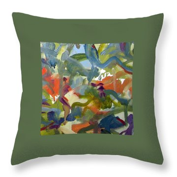 Untitled #24 Throw Pillow by Steven Miller