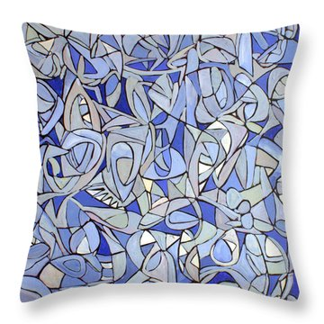 Untitled #32 Throw Pillow by Steven Miller