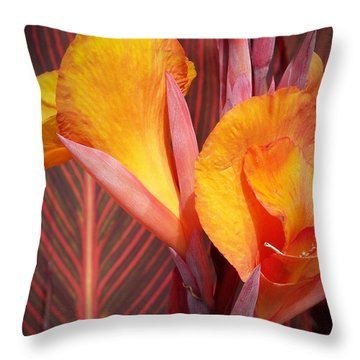 Up Close And Personal Throw Pillow by Chalet Roome-Rigdon