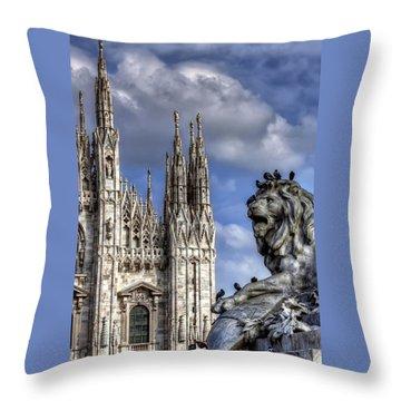 Urban Jungle Milan Throw Pillow by Carol Japp