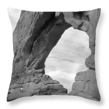 Utah Outback 29 Throw Pillow by Mike McGlothlen