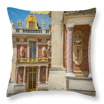 Versailles Splendor Throw Pillow by Inge Johnsson