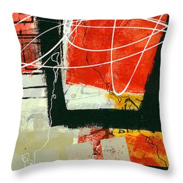 Vertical 1 Throw Pillow by Jane Davies