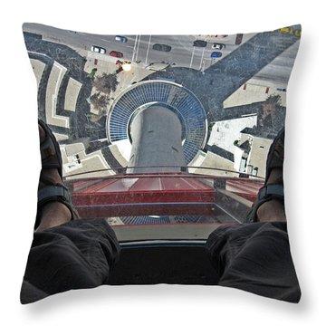 Vertigo Throw Pillow by RicardMN Photography