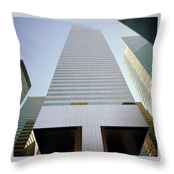 Vertigo Throw Pillow by Shaun Higson