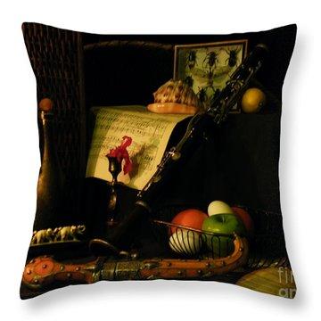 Very Very Still Life Throw Pillow by Joe Jake Pratt