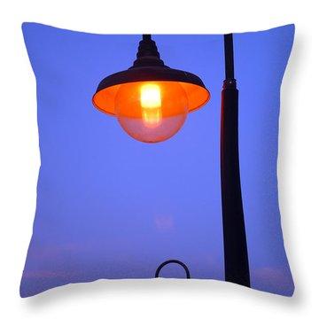 Vibrant Contrast Throw Pillow by Debra Thompson